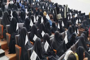 Female students rally in support of Taliban