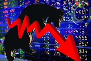 Market tad lower amid choppy trade, banking stocks fall