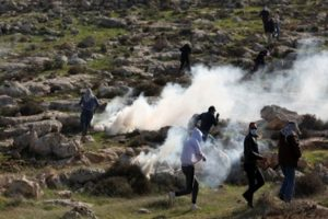 174 Palestinians injured in West Bank clashes
