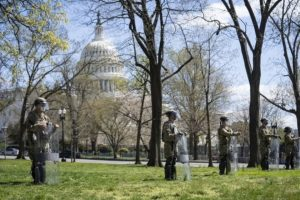 Peaceful right-wing rally near US Capitol amid high police alert