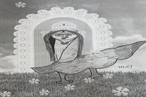 Mamata's sketch of 'Ma Durga' finds place in Kolkata Police invitation cards