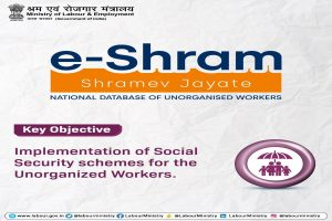 More than 4 crore workers registers with the E-Shram portal in just two months: Labour Minister