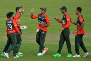 NZ lose to B'desh after being dismissed for their joint-lowest score