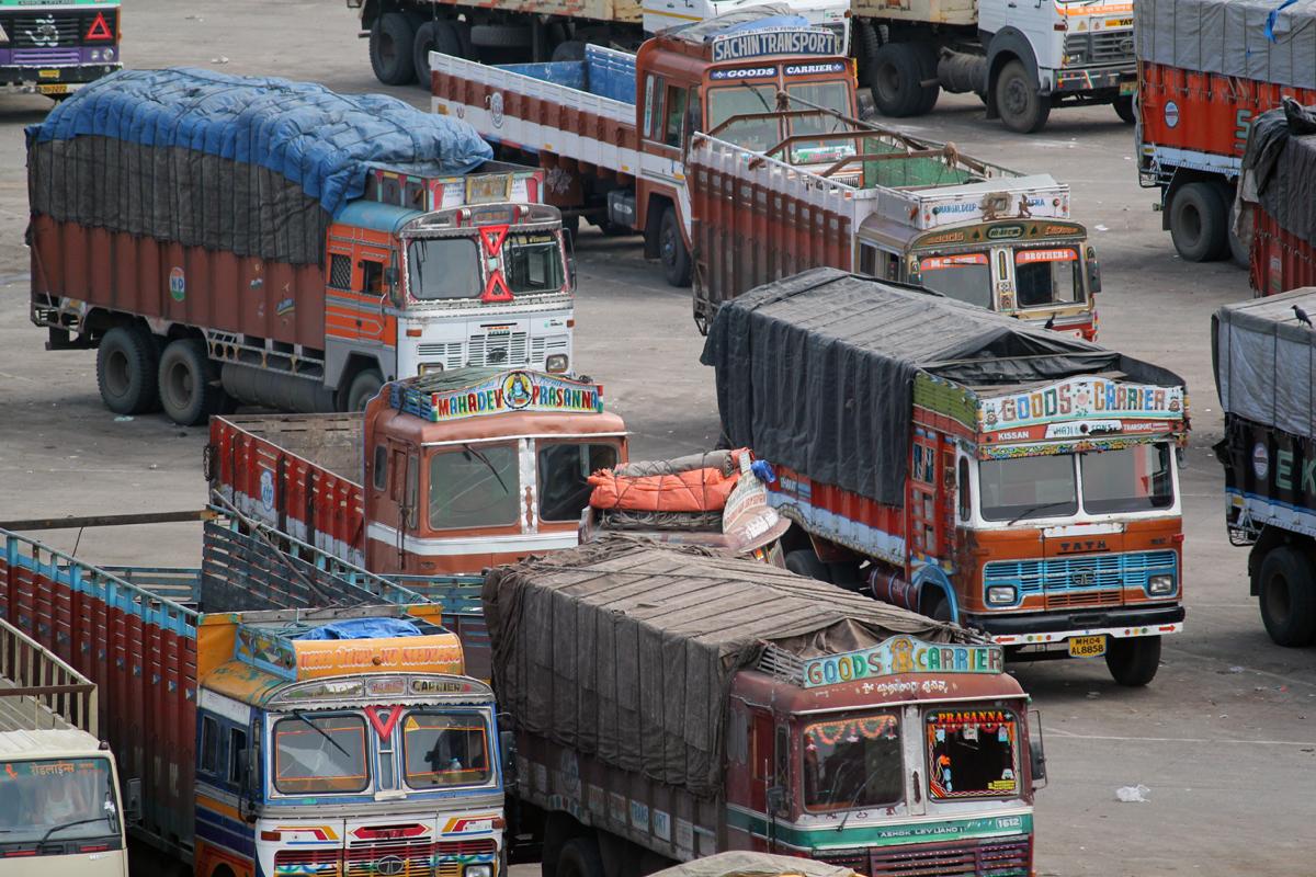 truck terminal, restaurant, Mangalore Port, Karnataka