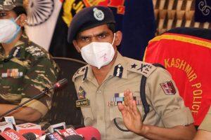 4 militants still active in Srinagar city: IGP Kashmir