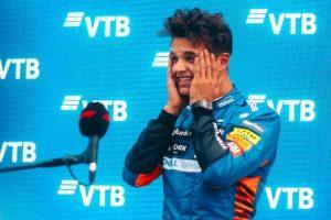 McLaren's Lando Norris takes pole for Russian GP; Hamilton 4th