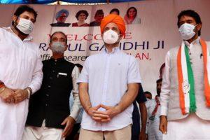 Rahul Gandhi invokes Kashmiri Pandit origin during Jammu visit