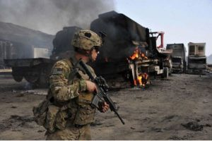 US military equipment left behind in Afghanistan spotted in Iran