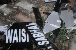 Owaisi's Delhi residence vandalised, five held