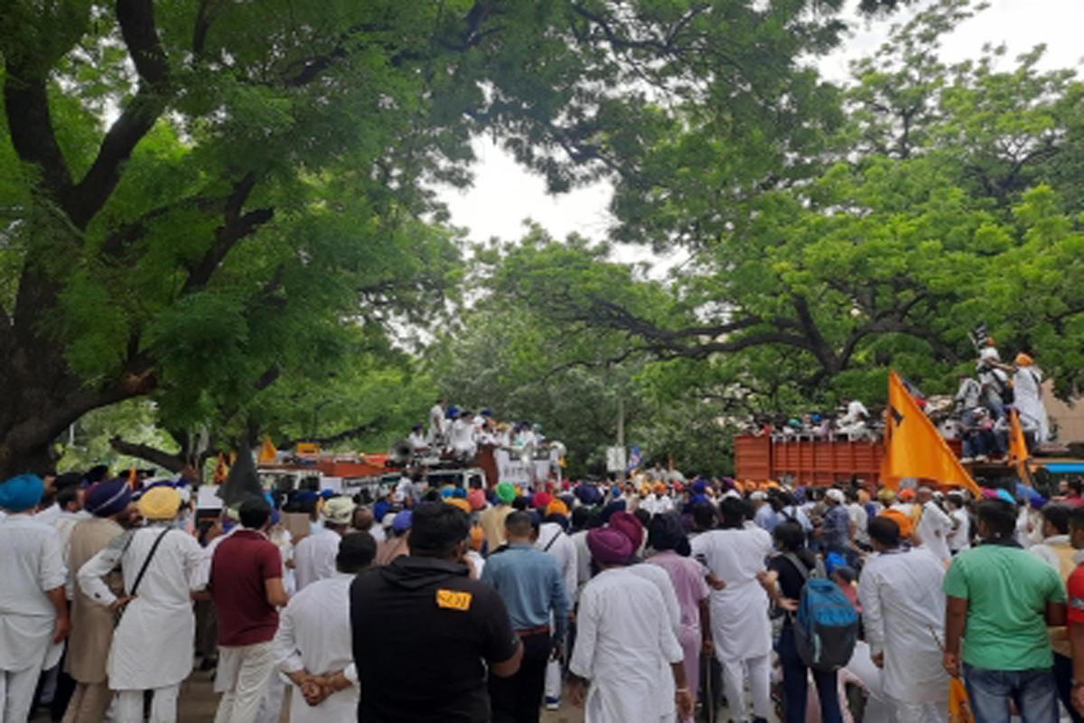 ani Akali Dal, farm law protests, Delhi Police, detained