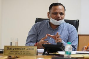 Satyendar Jain accuses centre of doing politics over oxygen crisis