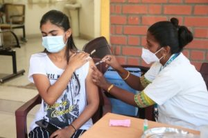 'K'taka tops special drive, all adults will be vaccinated by Nov-end'