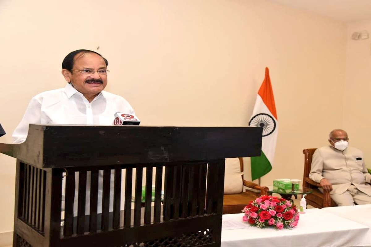 Indian Paralympians, M Venkaiah Naidu, Tokyo Olympics, SRM Institute of Science and Technology