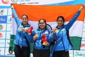 Manu Bhaker, Naamya Kapoor, and Rhythm Sangwan strike gold