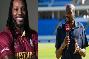 'Universe Boss' tells West Indies legend Ambrose to mind his business