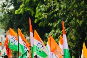 Assam Cong allies with two local parties for bypolls