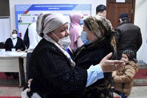 Uzbek president heading towards landslide win in elections