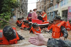 At least 792 reported dead, missing in China due to natural calamities