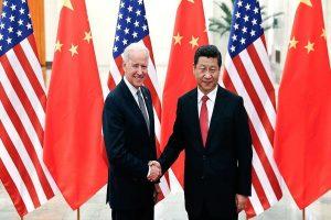 Joe Biden says he and Xi Jinping agreed to abide by Taiwan agreement