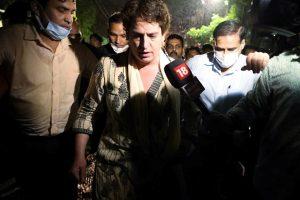 """Lakhimpur Kheri incident: Rahul calls Priyanka """"true Congress leader"""""""