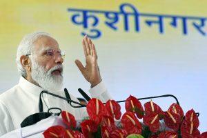 Decades of aspiration, efforts come true: PM opens Kushinagar int'l airport