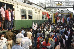 Rail Roko Protest: Delhi Police deploys personnel at Hazrat Nizamuddin Railway Station