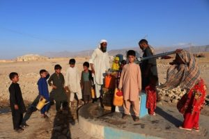 Children dying of starvation in Afghanistan