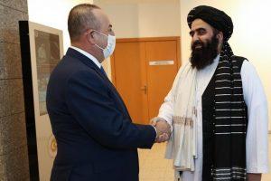 Turkish FM meets Taliban delegation in Ankara