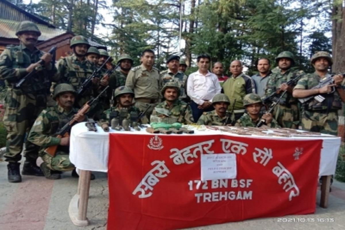 Kashmir district, BSF