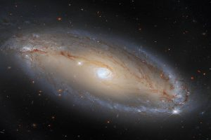Hubble Telescope detects spiral galaxy with celestial eye