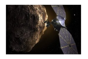 NASA's new Lucy asteroid spacecraft faces solar panel glitch