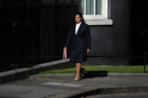 Security threat to UK lawmakers deemed substantial: Home Secy