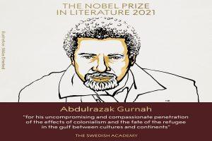 Abdulrazak Gurnah wins 2021 Nobel Prize for literature