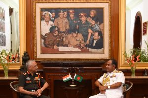 Bangladesh Navy chief in India to discuss coordinated maritime patrol
