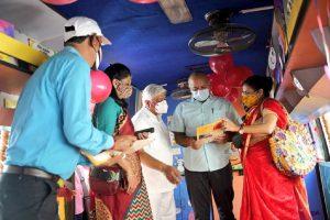 Sisodia launches Delhi govt's 'Anganwadi on Wheels' programme