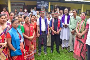 Officials of Assam, Meghalaya jointly visit disputed border area