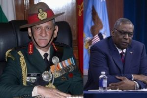 Rawat, Austin discuss expanding cooperation with regional partners