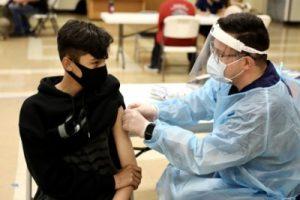 California pushes first US Covid vaccine mandate for schoolchildren