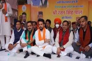 Congress a dynastic party, BJP a party of workers: Anurag Thakur