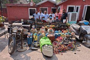 Haryana: 3 held for stealing farmers' equipment