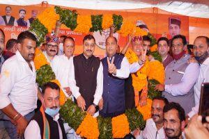 Khushal Thakur will win Mandi bypoll like he won Kargil war: Jai Ram