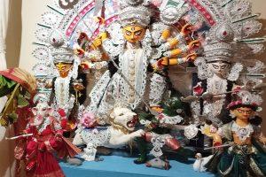 Goddess Aradhana on Sandhi puja