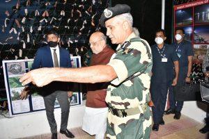Amit Shah takes stock of security at India-Pak border