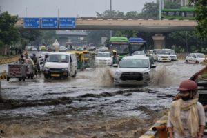 Overnight rainfall leads to waterlogging in Delhi-NCR; AQI worsens