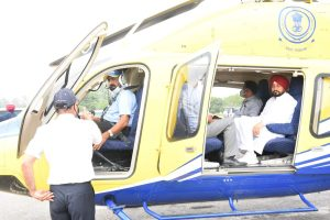 Stop heli-hopping, resolve grievances of weaker sections: SAD to Channi