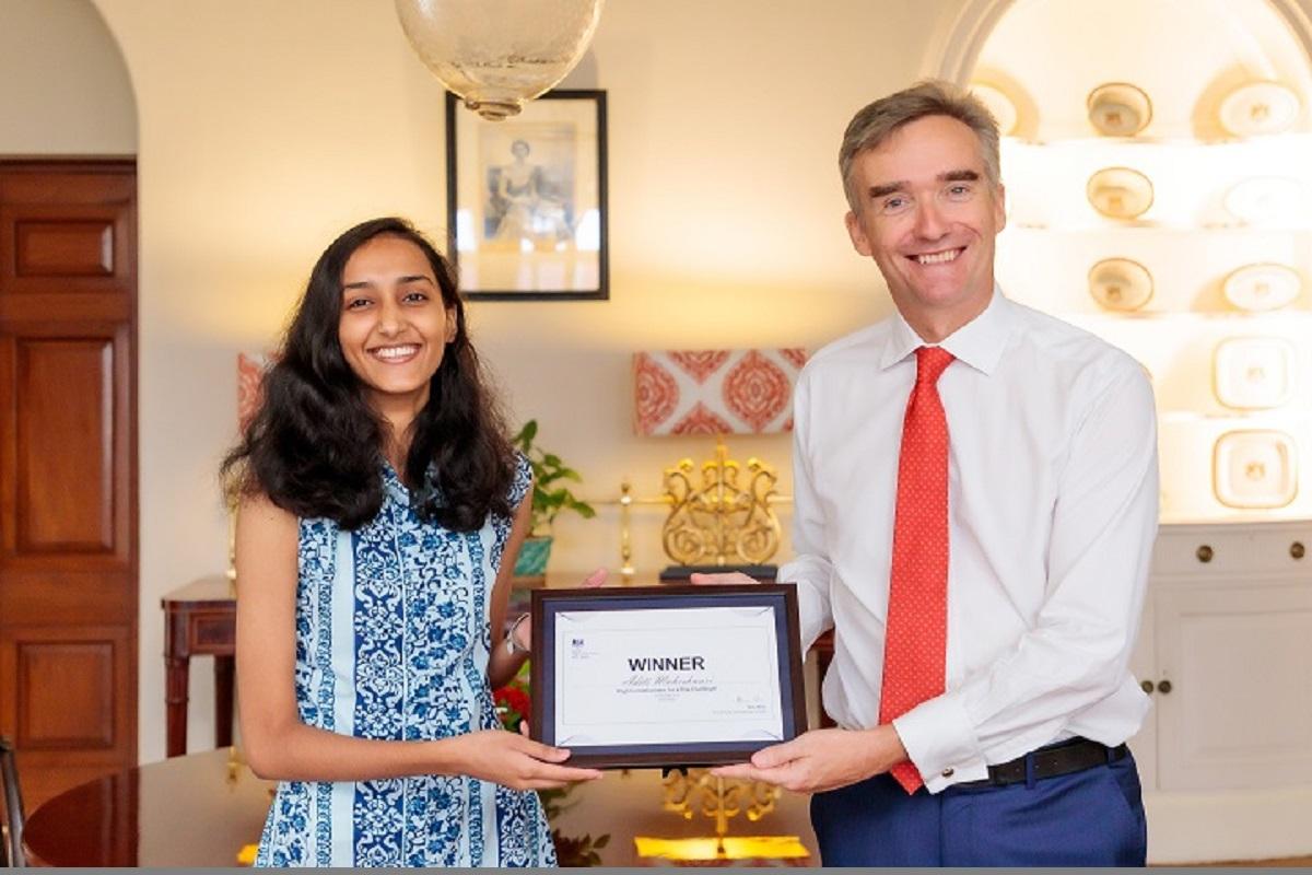 British envoy, Aditi Maheshwari, Rajasthan, British High Commission, International Day of the Girl Child