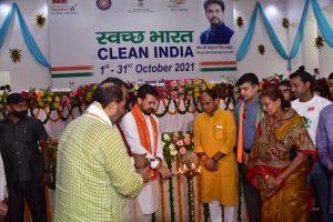 Union Minister Anurag Thakur launches nationwide Clean India Programme from Prayagraj