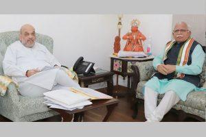 Farmers' Agitation: Khattar meets Amit Shah over reopening of Haryana-Delhi border roads