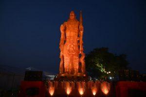 51 feet tall statue of Lord Shri Ram unveiled by Chhattisgarh CM Bhupesh Baghel