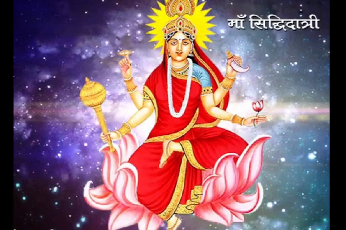 Maa Siddhidatri, Maha Navami, Narendra Modi